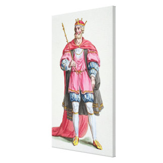 William the Conqueror (1027-87), from 'Receuil des Canvas Print
