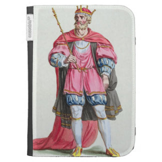 William the Conqueror (1027-87), from 'Receuil des Kindle 3G Covers