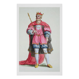 William the Conqueror (1027-87), from 'Receuil des Print