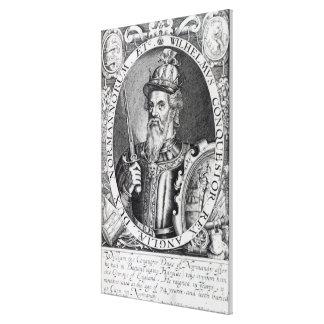 William the Conqueror, 1618 Canvas Print
