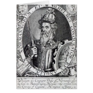 William the Conqueror, 1618 Card