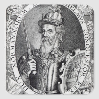 William the Conqueror, 1618 Square Sticker
