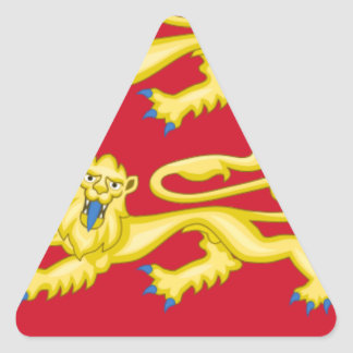 WILLIAM THE CONQUEROR TRIANGLE STICKER