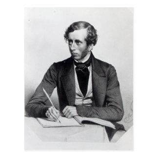 William Thompson  1849 Postcard