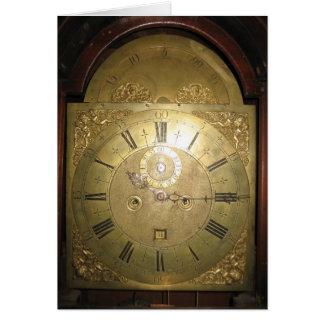 William Tomlinson Tall Case Clock II Card