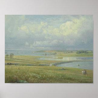 William Trost Richards (1833-1905), Mackerel Cove, Poster