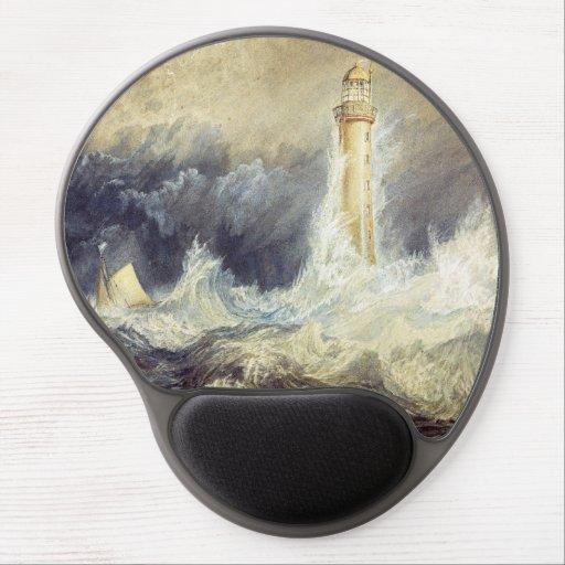 William Turner - Bell Rock Lighthouse Gel Mouse Pad