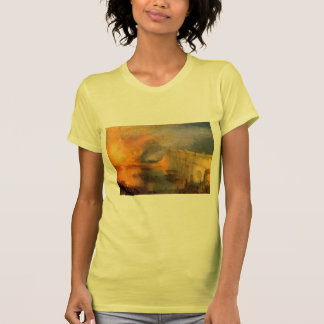 William Turner-Burning of the Houses of Parliament Shirts