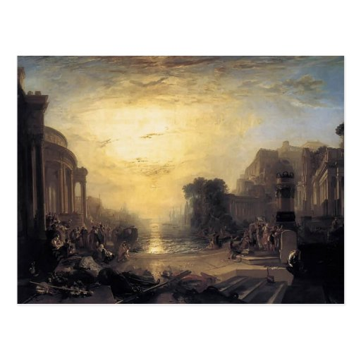 William Turner- Decline of the Carthaginian Empire Post Cards