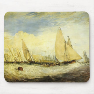 William Turner- East Cowes Castle Mouse Pads