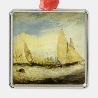 William Turner- East Cowes Castle Ornament