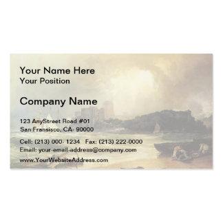 William Turner- Pembroke Caselt, South Wales Business Cards