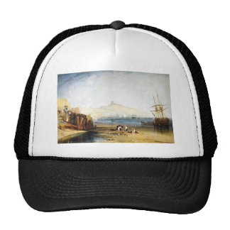 William Turner- Scarborough Town and Castle Hat