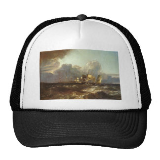 William Turner- Ships Bearing up for Anchorage Hats