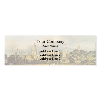 William Turner- South View of Christ Church Business Card Template