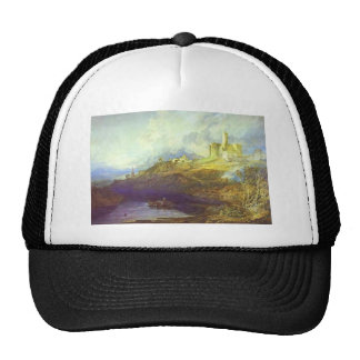 William Turner- Storm Approaching at SunSet Trucker Hats