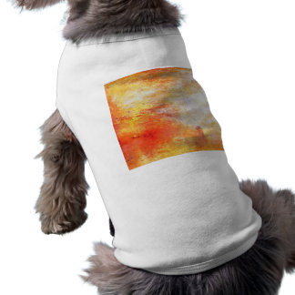 William Turner Sun Setting Over A Lake Painting Shirt
