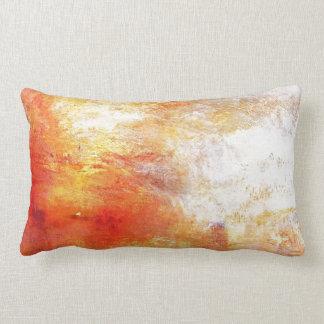 William Turner Sun Setting Over A Lake Romanticism Pillow