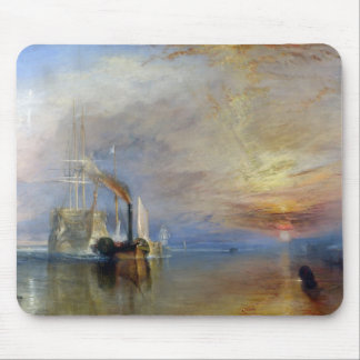 William Turner: Temeraire tugged to last berth Mousepads