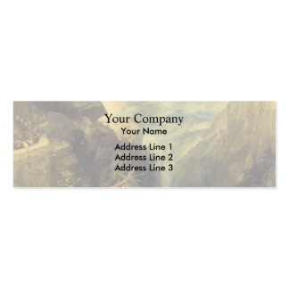 William Turner- The Battle of Fort Rock Business Card Template
