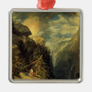 William Turner- The Battle of Fort Rock Christmas Ornaments