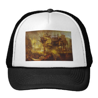 William Turner- The Battle of Trafalgar Hat