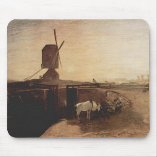 William Turner- The big connection channel Mouse Pads