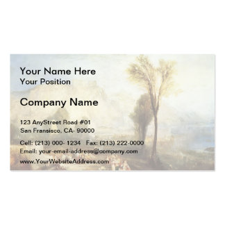 William Turner- The Bright Stone of Honour & Tomb Business Card Template