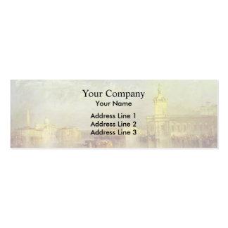 William Turner- The Dogana, San Giorgio, Citella Business Card Templates