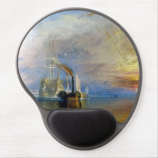William Turner - The Fighting Temeraire Gel Mouse Pad