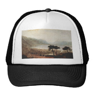 William Turner-The Lake Geneva seen from Montreux Mesh Hats