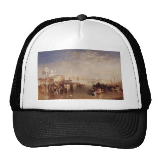 William Turner- Venice seen from Giudecca Canal Hats