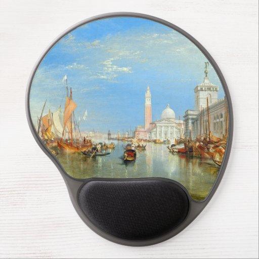 William Turner - Venice, The Dogana & San Giorgio Gel Mouse Pad