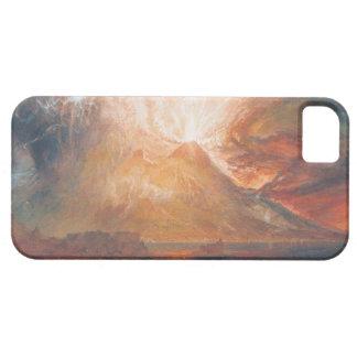 William Turner Vesuvius in Eruption waterscape art iPhone SE/5/5s Case
