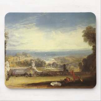 William Turner- View from the Terrace of a Villa Mousepad