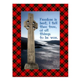William Wallace Freedom Monument Postcard