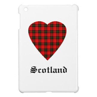 William Wallace Scotland Heart Tartan Case iPad Mini Case