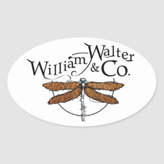 William Walter and Co. Dragonfly Sticker