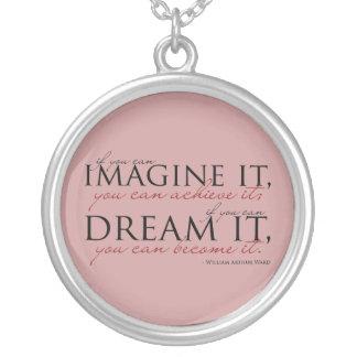 William Ward Imagine Quote Custom Necklace