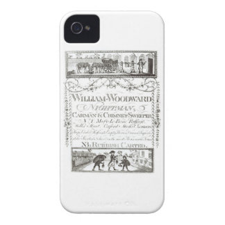 William Woodward Nightman Carman and Chimney Swe iPhone 4 Case-Mate Cases