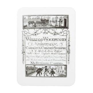William Woodward, Nightman, Carman and Chimney Swe Rectangular Photo Magnet