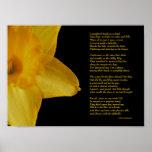 William Wordsworth Daffodils Poster