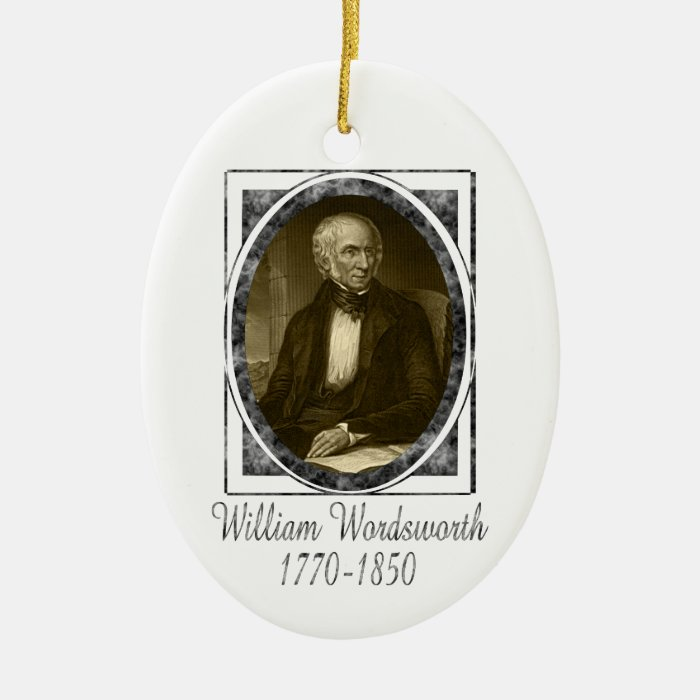 William Wordsworth Ornament