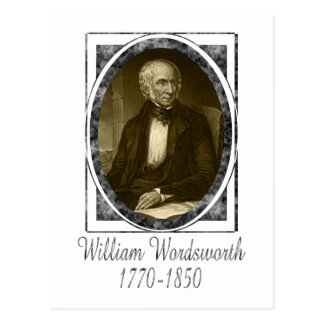 William Wordsworth Postcard