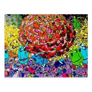 Williamburg Graffiti Art Postcard