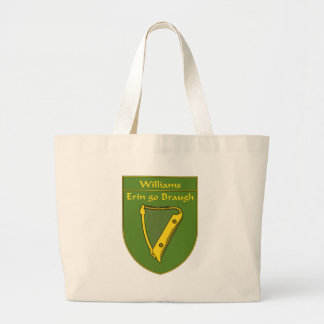 Williams 1798 Flag Shield Large Tote Bag