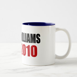 WILLIAMS 2010 Two-Tone COFFEE MUG