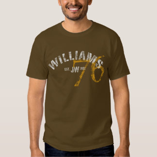 Williams 76 - Dark Tee Shirt