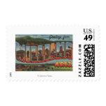 Williams, Arizona - Large Letter Scenes Postage Stamp