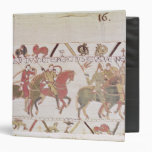 William's  army going to Mont Saint-Michel 3 Ring Binder
